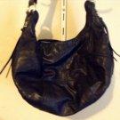 SALE Andrew Marc Medium Black Zipper Detail Leather Satchel Retail $425
