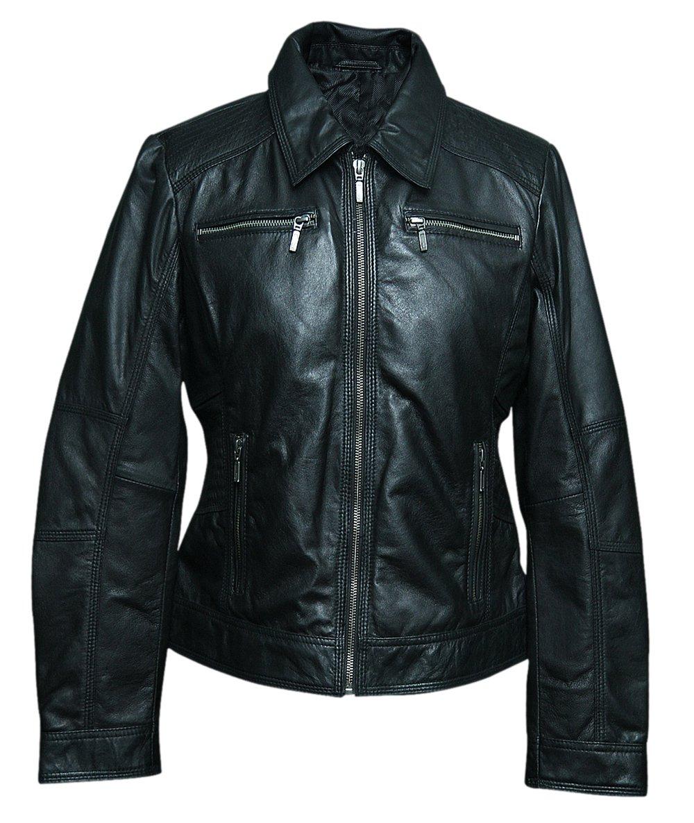 Women leather jackets (BKW-285215)