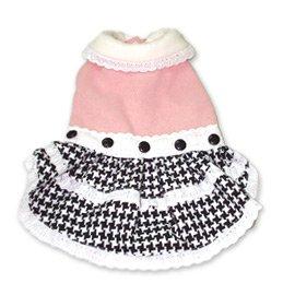 Pink Dog Tea Party Dress - Dogo Design ~Medium~