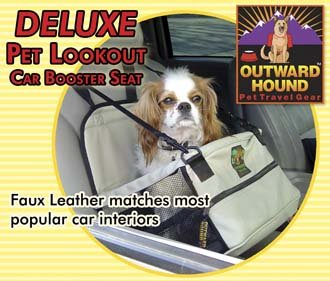 Pet Dog Car Booster Seat