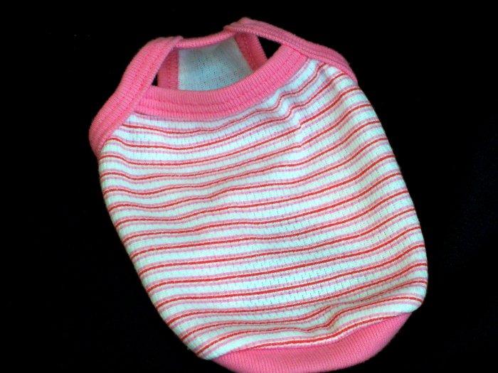 Pink Striped t-shirt  ~XXS~