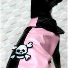 PINK Pirate Raincoat Chihuahua size ~S~