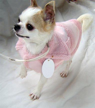 Pink Fur Trim Sweater Vest ~XS~ FREE SHIPPING