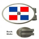 NATIONAL FLAG OF THE DOMINICAN REPUBLIC MONEY CLIP