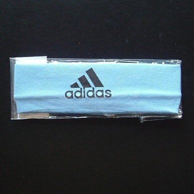 ADIDAS SPORTS ELASTICATED HEAD BAND  (BLUE)