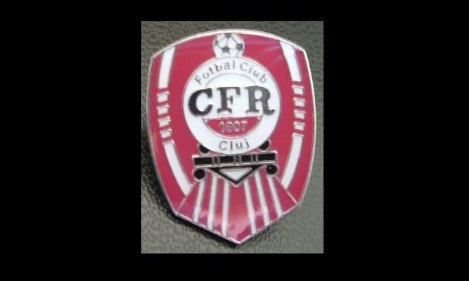 FOOTBALL CLUB CFR1907 CLUJ ROMANIA TEAM PIN BADGE