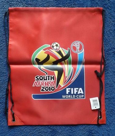 SOUTH AFRICA FIFA WORLD CUP 2010 RED WATERPROOF BACKPACK KITBAG
