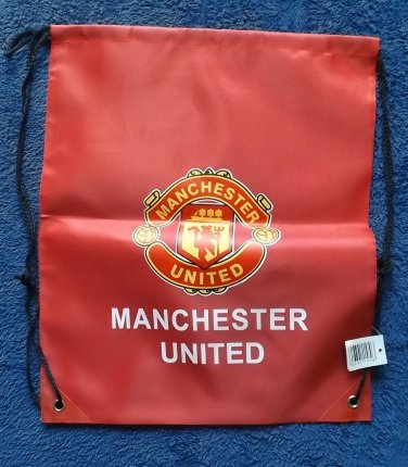 MANCHESTER UNITED THE RED DEVILS FOOTBALL CLUB WATERPROOF BACKPACK KITBAG
