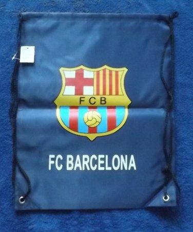 FC BARCELONA BARCA  FOOTBALL CLUB WATERPROOF BACKPACK KITBAG