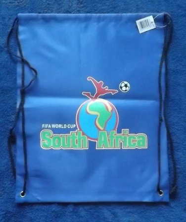 SOUTH AFRICA FIFA WORLD CUP 2010 BLUE WATERPROOF BACKPACK KITBAG