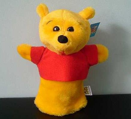 WINNIE THE POOH CHILDRENS CHARACTER GLOVE PUPPET