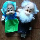 GRANDMOTHER AND GRANDAD CHILDRENS CHARACTER GLOVE PUPPETS