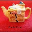 Red Rose Canadian  Tea Premium Mini-Teapot Powder Room