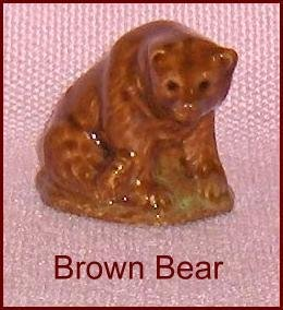 Wade Porcelain Whoppa Brown Bear  Figurine