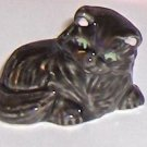 Wade Porcelain Black Cat Figurine