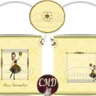 Ballerina Birthstone Gift Can - template - NOVEMBER
