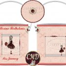 Ballerina Birthstone Gift Can - template - JANUARY