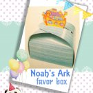 NOAH'S ARK Favor Packaging - 5 paper boxes - FREE SHIPPING