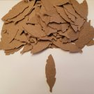 100 Mini Feathers - Kraft - FREE SHIPPING