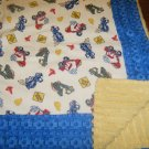 Dump Trucks Baby/Toddler Blanket