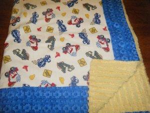 Dump Trucks Baby/Toddler Blanket