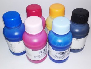 Pigment Ink for Epson by QualityBits� - UV-resistance, Water Proof, Never fading, 600ML CMYK LC LM