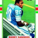 Barry Sanders RC #83T GM MT 10.0