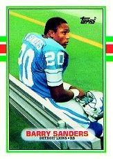 Barry Sanders RC #83T GM MT 10.0