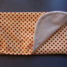 Red Spotty Burp Cloth