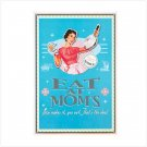 Mom Kitchen Tin Sign