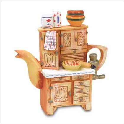 Tea Pot Figurine