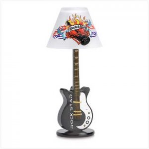 Rock N Roll Candle Lamp