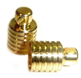 10 GOLD CAPS and PLUGS