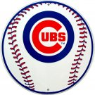 CHICAGO CUBS BASEBALL MAJOR LEAGUE BASEBALL CIRCULAR SIGNS