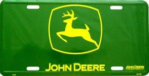 JOHN DEERE GREEN LOGO LICENSE PLATES