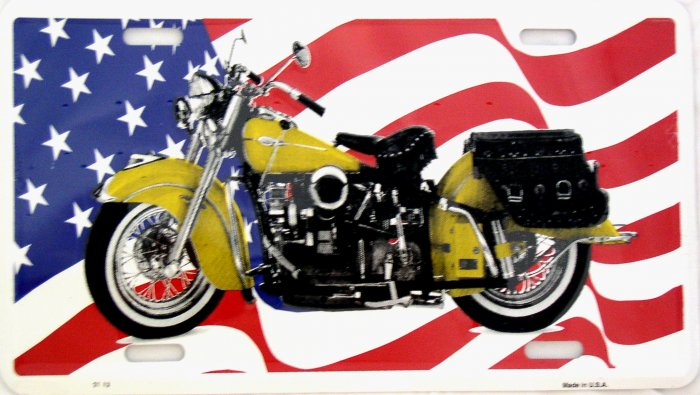 INDIAN MOTORCYCLE LICENSE PLATES