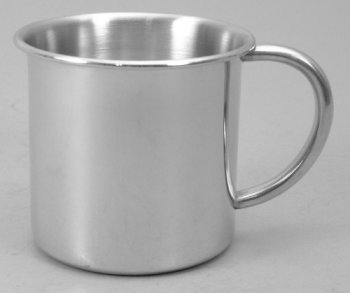 Pewter Straight Side Baby Cup