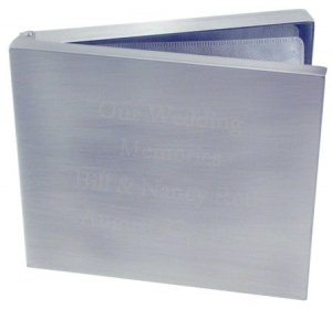 CD/DVD Video Holder - Pewter Finish