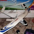 Commander 2 ELECTRIC RC RADIO controlled plane TESTED w extra tail section