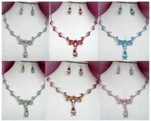 Beautiful Necklace and Earring sets - Available March 15, 2010