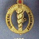 Dental Hygienist Medical Flame Emblem Lapel Pin 932 New