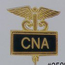 CNA Certified Nurses Aide Inlaid Pin Caduceus 3508B New
