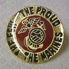 Marines The Few Proud Insignia Lapel Cap Pin Tac New