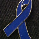 Dysautonomia Awareness Month is March Blue Support Ribbon Lapel Pin New