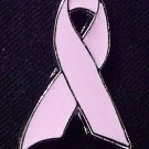 Pink Breast Cancer Ribbon Lapel Cap Pin Tac Silver New