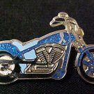 Dysautonomia Awareness Month is March Blue Ribbon Motorcycle Biker Pin Tac New
