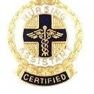 Certified Nursing Assistant Pin Medical Graduation Nurse Recognition 1075 New