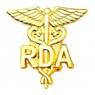RDA Lapel Pin Registered Dental Assistant Emblem 950 New