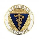 Veterinary Medicine PIN Vet Caduceus Medical Emblem Graduation Recognition Pins