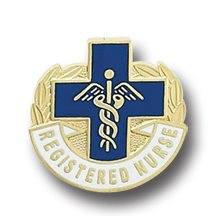 Registered Nurse Lapel Pin RN Graduation Pinning Ceremony Pins Blue Cross 963
